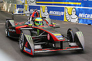 Venturi driver, Mike Conway during round 10, Formula E, Battersea Park, London, United Kingdom on 3 July 2016. Photo by Matthew Redman.