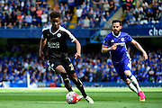 Leicester City Midfielder Demarai Gray (22) during the Barclays Premier League match between Chelsea and Leicester City at Stamford Bridge, London, England on 15 May 2016. Photo by Jon Bromley.