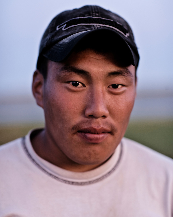 Portraits of Mongolian people