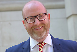 May 10, 2017 - London, London, United Kingdom - Image ©Licensed to i-Images Picture Agency. 10/05/2017. London, United Kingdom. Paul Nuttall arrives at Four Millbank. London.. Paul Nuttall leader of UK Independence Party (UKIP) arrives at Four Millbank for Daily Politics Show.. Picture by Dinendra Haria / i-Images (Credit Image: © Dinendra Haria/i-Images via ZUMA Press)