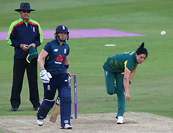 June 15, 2018 - Canterbury, England, United Kingdom - Marizanne Kapp South Africa Women.during Women's One Day International Series match between England Women against South Africa Women at The Spitfire Ground, St Lawrence, Canterbury, on 15 June 2018  (Credit Image: © Kieran Galvin/NurPhoto via ZUMA Press)