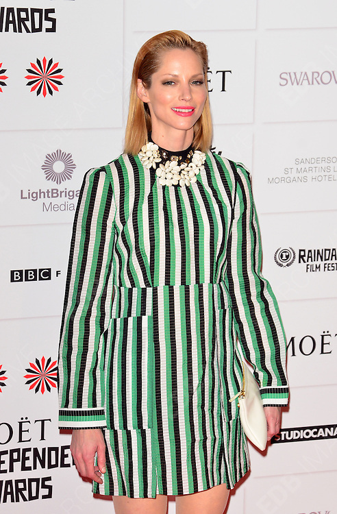 09.DECEMBER.2012. LONDON<br /> <br /> SIENNA GUILLORY ATTENDS THE BRITISH INDEPENDENT FILM AWARDS AT OLD BILLINGSGATE MARKET. <br /> <br /> BYLINE: JOE ALVAREZ/EDBIMAGEARCHIVE.CO.UK<br /> <br /> *THIS IMAGE IS STRICTLY FOR UK NEWSPAPERS AND MAGAZINES ONLY*<br /> *FOR WORLD WIDE SALES AND WEB USE PLEASE CONTACT EDBIMAGEARCHIVE - 0208 954 5968*