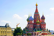 St. Basil's Church Red Square Moscow Russia
