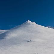Botnsúlur mountains.
