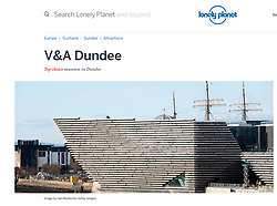 Lonely Planet ; Dundee V&A Museum