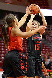 07 October 2016: Frannie Corrigan. Illinois State University Women's Redbird Basketball team during Hoopfest at Redbird Arena in Normal Illinois.