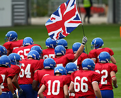 29.07.2010, Brita Arena, Wiesbaden, GER, Football EM 2010, Team Sweden vs Team Great Britain, im Bild Einmarsch der englischen Mannschaft,  EXPA Pictures © 2010, PhotoCredit: EXPA/ T. Haumer / SPORTIDA PHOTO AGENCY