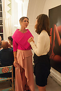 VALERIA NAPOLEONE, Valeria Napoleone hosts a dinner at her apartment e to celebrate the publication of her book  Valeria Napoleone's Catalogue of Exquisite Recipes. Palace Green. Kensington. London. 28 September 2012.