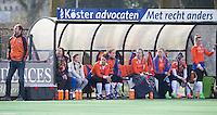 Bloemendaal - Hockey - Hoofdklasse competitie dames, Bloemendaal-Pinoke (0-0). Assistent coach van Bloemendaal, Teun de Nooijer. COPYRIGHT KOEN SUYK