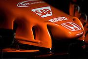 February 26, 2017: Circuit de Catalunya. McLaren Honda, MCL32 front wing detail