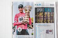 Giro d'Italia 2018, Sportweek RCS. SportWeek_N_22_02_Giugno_2018 pag1<br /> <br /> 101st Giro d'Italia (2.UWT) 2018