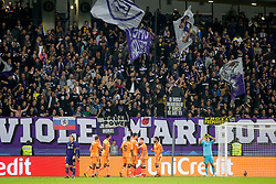 Players of Liverpool FC celebrate goal during group E football match between NK Maribor and Liverpool FC in 3rd Round of UEFA Champions League, on October 17, 2017 in Ljudski vrt, Ljubljana, Slovenia. Photo by Urban Urbanc / Sportida