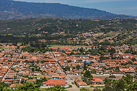 Villa de Leyva  skyline cityscape Boyaca in Colombia South America