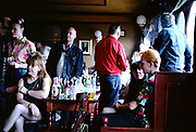 Pub scene, UK, 1990's
