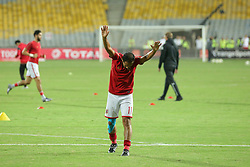 November 2, 2018 - Alexandria, Egypt - Walid Soliman of Al-Ahly reacts during their first leg of Final African Champions League CAF match Between Al Ahly and Esperance de Tunis at Borg Al Arab Stadium,on 2 November, 2018. (Credit Image: © Ahmed Awaad/NurPhoto via ZUMA Press)
