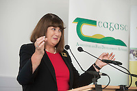 22/09/2014 Repro free Pictured at a visit of Maire Geoghegan-Quinn , European Commissioner for research Innovation and science to Teagasc, Athenry, Co. Galway <br /> . Photo:Andrew Downes