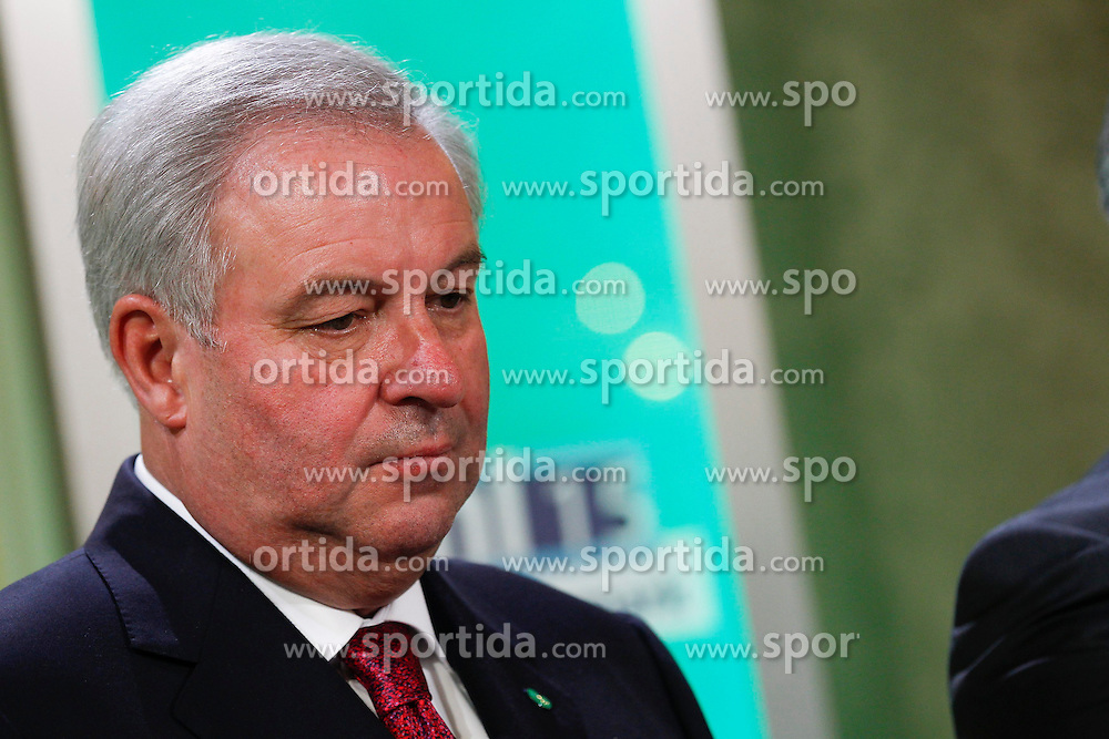 31.05.2015, Graz, AUT, Landtagswahl in der Steiermark, im Bild LH-Stv. Hermann Schützenhöfer (ÖVP) // during the state parliament election day in Graz, Austria on 2015/05/31, EXPA Pictures © 2015, PhotoCredit: EXPA/ Erwin Scheriau