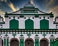Meera Maccam Mosque, Kandy, Sri Lanka