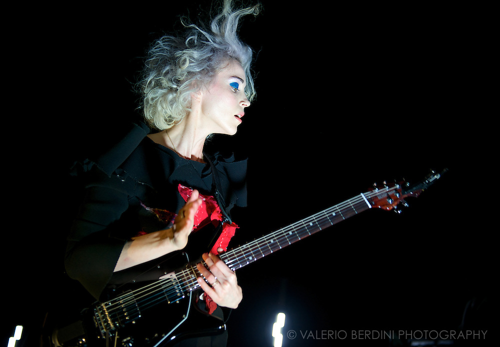 St. Vincent live in London at Shepherds Bush Empire on 20 February 2014