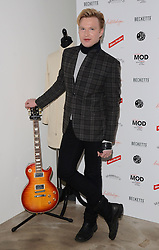 Henry Conway attends March of the Mods launch party to celebratethe launch of  Richard Weight's new Green Label Collection and book at Gibson Lounge, Eastcastle Street, London, W1 on Wednesday 11 February 2015