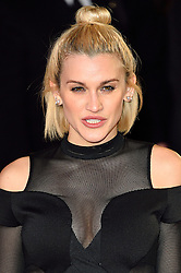 © Licensed to London News Pictures. 22/02/2016. ASHLEY ROBERTS attends the GRIMSBY Film premiere. The film centres around a black-ops spy whose brother is a football hooligan.  London, UK. Photo credit: Ray Tang/LNP