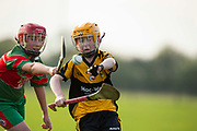 22/10/2016,  Cumann na mBunscol Primary School Finals at Trim.<br /> Game 7_Division 3 Hurling Final: Killyon vs Kilskyre<br /> Kian Douglas (St Finians NS- Killyon) & Kit Og Lynch (Kilskyre NS)<br /> Photo: David Mullen /www.cyberimages.net / 2016<br /> ISO: 500; Shutter: 1/1250; Aperture: 4<br /> File Size: 2.4MB<br /> Print Size: 8.6 x 5.8 inches