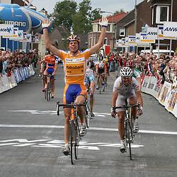 Tom Veelers was in 2006 eindwinnaar Olympia's tour en winnaar van diverse etappe's Olympia Tour 2006Olympia Tour 2006 <br /> Tom Veelers wint Olympias's Tour 2006