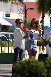 """File picture of Mariah Carey in town enjoying St Barts lifestyle. The island was a paradise until September 6, 2017. Hurricane Irma left a trail of """"absolute devastation"""", destroying houses, snapping trees and killing at least eight persons as it tore across the tiny Caribbean island of St Barts on Wednesday with 185-mile-per-hour winds. Photo by Papixs/ABACAPRESS.COM"""