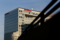 GERMANY HAMBURG 30DEC13 - Der Spiegel building in Hamburg's Hafen City housing the famous news magazine.<br /> <br /> <br /> <br /> jre/Photo by Jiri Rezac<br /> <br /> <br /> <br /> © Jiri Rezac 2013