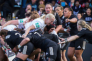 Tamara Taylor and Laura Keates head up a maul but can't break through the New Zealand defence, England Women v New Zealand Women in an Old Mutual Wealth Series, Autumn International match at Twickenham Stoop, Twickenham, England, on 19th November 2016. Full Time score 20-25
