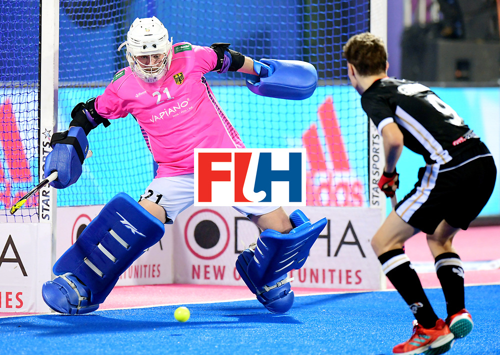 Odisha Men's Hockey World League Final Bhubaneswar 2017<br /> Match id:21<br /> India v Germany<br /> Foto: keeper Tobias Walter (Ger) <br /> COPYRIGHT WORLDSPORTPICS FRANK UIJLENBROEK