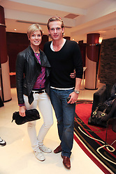 ISABELLA ANSTRUTHER-GOUGH-CALTHORPE and her brother JACOBI ANSTRUTHER-GOUGH-CALTHORPE at a screening of The Volunteer - a documentary by Hugo Chittenden held at the Courthouse Hotel, 19-21 Great Marlborough Street, London on 2nd June 2010.