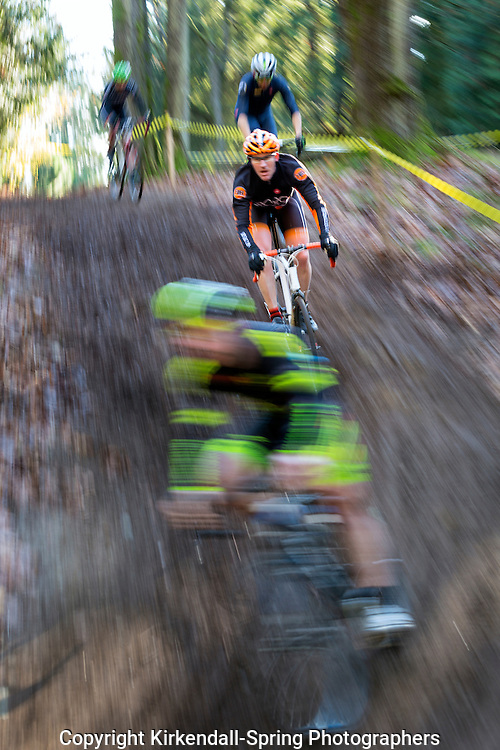 PE00329-00...WASHINGTON - Cyclocross bicycle race in Seattle.