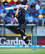 Black Caps Captain Kane Williamson during the Fifth ODI of the 2019 ANZ International ODI Series. Blackcaps v India at Westpac Stadium, Wellington, Sunday 3rd February 2019. © Copyright Photo: Grant Down / www.photosport.nz