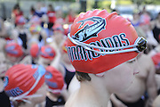 The Briarcliff Woods Beach Club Barracudas swim team competes against Twin Lakes on Tuesday, May 28, 2013 in Atlanta. (David Tulis/dtulis@gmail.com)