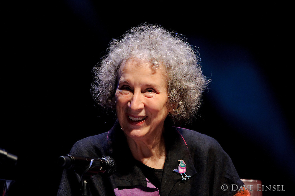 Margaret Atwood gives a reading sponsored by Inprint January 23, 2012, in Houston.