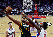 Basketball: 20170430 NBA Clippers vs Jazz