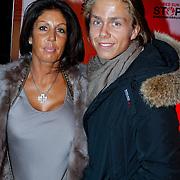 NLD/Blaricum/20121104 - Benefietavond The Red Sun Blaricum  t.b.v. Stop Kindermisbruik, Rachel Hazes met zoon Dre