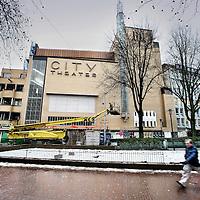 Nederland, Amsterdam , 15 januari 2010..De opknapte bioscoop City Theatre...Foto:Jean-Pierre Jans