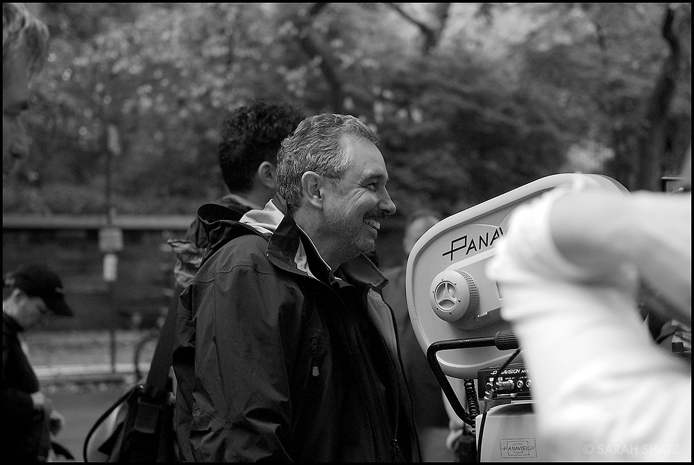 "Fred Murphy, cinematographer, on the set of ""Ghost Town"" (Dir: David Koepp, 2008)"