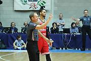 Red October Cantù VS Consultinvest Pesaro LBA serie A 3^ giornata stagione 2016/2017 Desio 16/10/2016<br /> <br /> Nella foto: delusione Fields Brandon