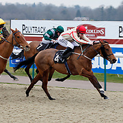 Chevise and Matthew Davies winning the 3.00 race