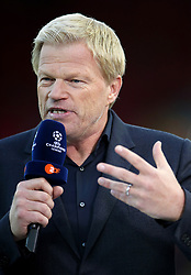 Oliver Kahn before the UEFA Champions League Play-Off, Second Leg match at Anfield, Liverpool