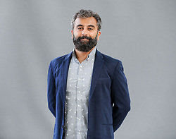 Pictured: Economist and writer Prayaag Akbar at the Book Festival.<br /> <br /> © Dave Johnston / EEm