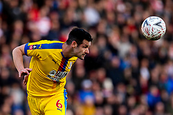 Scott Dann of Crystal Palace - Mandatory by-line: Robbie Stephenson/JMP - 17/02/2019 - FOOTBALL - The Keepmoat Stadium - Doncaster, England - Doncaster Rovers v Crystal Palace - Emirates FA Cup fifth round proper