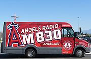 Angels Baseball AM 830 Radio News Van