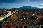 Nicaragua / Granada / Mombacho Volcano / Rooftops