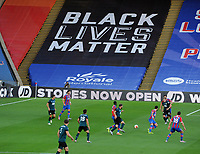 Football - 2019 / 2020 Premier League - Crystal Palace vs Burnley<br /> <br /> Black lives matter banner at the match, at Selhurst Park<br /> <br /> COLORSPORT/ANDREW COWIE