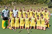 20141115 International Hockey - NZ Black Sticks Women v Australia Hockeyroos
