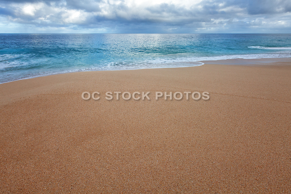 Peaceful Coastal Beach Scene